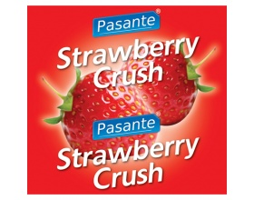 Pasante Strawberry Flavour, Προφυλακτικά με Φράουλα, 144 τμχ