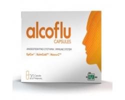 Elpen Alcoflu, Συπλήρωμα Διατροφής Για Ισχυρό και Θωρακισμένο Ανοσοποιητικό, 20 κάψουλες