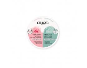 Lierac Duo Masks Hydragenist Masque SOS Hydratant Oxygenant & Sebologie Masque Scrub Προσφέρει βαθύ καθαρισμό ενώ ενυδατώνει εντατικά την επιδερμίδα επαναφέροντας την ισορροπία της 2x6ml