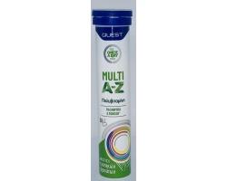 Quest Multi A-Z Vitamins Συπμλήρωμα διατροφής Για Ενέργεια - Τόνωση 20 Αναβράζοντα Δισκία με γεύση φρούτων
