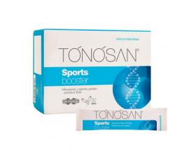 Uni-Pharma TONOSAN Sports Booster συμπλήρωμα διατροφής Με κρεατίνη, L-καρνιτίνη, μαγνήσιο ινοσιτόλη & BCAA 20 φακελίσκοι