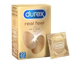 Durex Real Feel Προφυλακτικά, 20 τμχ