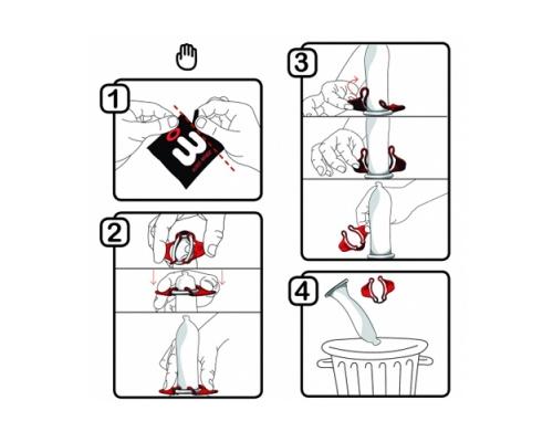 Wingman Προφυλακτικά για πιο Ασφαλή Χρήση, 8 τμχ