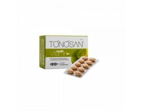 Uni-Pharma TONOSAN multiVitamin 50+ συμπλήρωμα διατροφής με συνένζυμο Q10 , βιταμίνες & αμινοξέα 60 δισκία