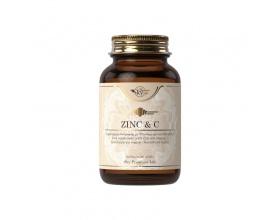 Sky Premium Life Zinc & Vitamin C Συμπλήρωμα διατροφής με ψευδάργυρο και βιταμίνη C, που υποστηρίζει το ανοσοποιητικό σύστημα 60 ταμπλέτες