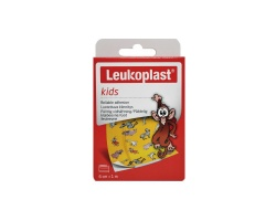 LEUKOPLAST Kids Zoo ρολό παιδικό  Φιλικό προς το δέρμα 6cm*1m