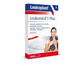 LEUKOPLAST Leukomed T Plus Αδιάβροχη γάζα αυτοκόλλητη 8*10cm 5 τεμάχια