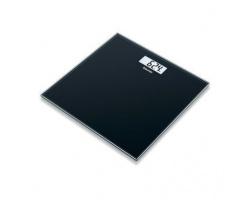Beurer Glass Bathroom Scale Ζυγαριά Δαπέδου με Μεγάλη οθόνη , χρώμα μαύρο έως 180kg , 1 τμχ