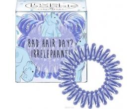 Invisibobble Original Irrelephant Circus Collection Λαστιχάκι Μαλλιών  χρώμα γαλάζιο 3τμχ