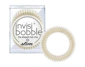Invisibobble Slim Stay Gold Λαστιχάκι Μαλλιών, χρώμα χρυσό 3τμχ