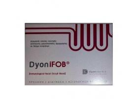 TEST DYON iFOB (1 rapid test , CLIA) για την ανίχνευση μικροσκοπικής αιμορραγίας σε δείγματα κοπράνων