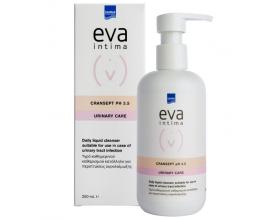 InterMed eva intima CranSept Wash pH3.5 Καθημερινό υγρό καθαρισμού ευαίσθητης περιοχής, ιδανικό για ευαίσθητες επιδερμίδες, με εκχύλισμα βοτάνων & Cranberry 250ml
