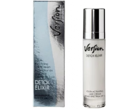 Version Detox Elixir Cream SPF15 Αντιρυτιδική Κρέμα Προσώπου με Αντιοξειδωτική Δράση, Κατάλληλη για όλους τους τύπους δέρματος 50ml