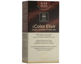 APIVITA Βαφή Μαλλιών my colour elixir colour 6,44 ξανθό σκούρο έντονο χάλκινο