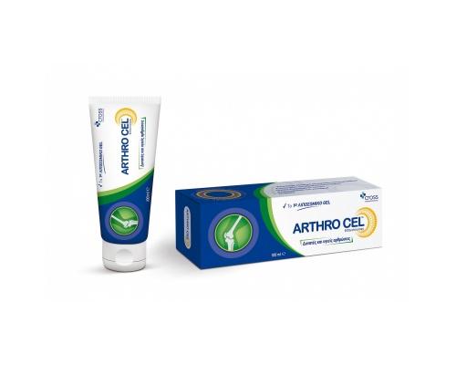 CROSS Pharmaceuticals Arthro Cel gel Λιποσωμικό Gel για τον πόνο των αρθρώσεων με MSM & μενθόλη 100ml