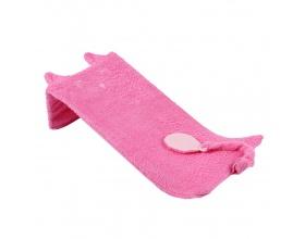 Minene Baby Bath Βάση Μπάνιου για Μωρά εώς 6 μηνών με Γάντι Χρώμα Ροζ, 1τμχ