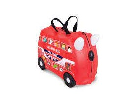 Trunki Παιδική Βαλίτσα Ταξιδίου Boris the Bus Limited Edition, 1τμχ