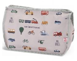 My Bag's, Τσάντα-Νεσεσέρ Καλλυντικών Με Αυτοκινητάκια, 1τμχ.