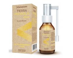 Genecom TERRA Propolis plus Στοματικό και φαρυγγικό σπρέι με γεύση βύσσινο για τον ερεθισμένο λαιμό 20ml