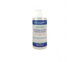 Froika Froisept Αντισηπτικό Gel Εξουδετερώνει το 99,9% των μικροβίων και προσφέρει υγιεινή και προστασία χωρίς νερό και σαπούνι 1000ml