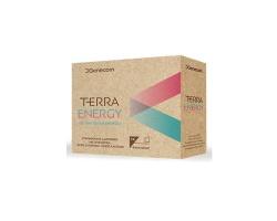 Genecom TERRA Energy Συμπλήρωμα διατροφής για ενέργεια & τόνωση με γλυκαντικά χωρίς γλουτένη 14 φακελίσκοι