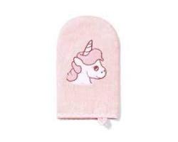 Babyono, Γαντάκι Πλυσίματος Μωρού απο Μπαμπού Χρώμα Ροζ, 1τμχ
