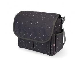 My Bag's, Τσάντα Καροτσιου με Γάτζους για να Κρεμιέται στο Καρότσι και Υπόστρωμα Αλλαγής Πάνας Χρώμα Γκρί, 1τμχ