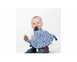 Cheeky Chopmpers Comfortchew Cuddle & Chew Μοντέρνο Μασητικό Με Αστεράκια Χρώμα Γαλάζιο-μπλέ 4 σε 1, 1 τμχ