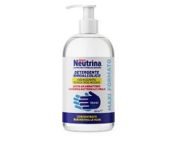 Neutrina Exent Sanitizing Hand Gel  Υδροαλκοολικό Gel Καθαρισμού Χεριών 500 ml