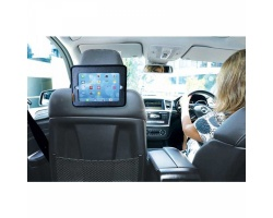 Dreambaby Θήκη για Tablet και Καθρέφτης Αυτοκινήτου Χρώμα Γκρί, 1τμχ