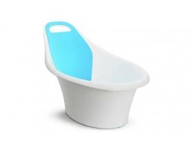 Munchkin Sit and Soak Infant Tub, Μπανάκι Παιδικό με Αντιολισθητικό Πάτο για να Κρατάει τα Μωράκι σε Όρθια Θέση 0-12m, 1τμχ