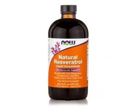 Now Resveratrol Liquid, Mega Potency Συμπλήρωμα Ρεσβερατρόλης, με Ισχυρές Αντιοξειδωτικές Ιδιότητες, για Καλή Λειτουργία του Καρδιαγγειακού Συστήματος, 473 ml