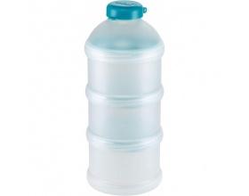 NUK Milk Powder Dispenser Δοσομετρητής σκόνης γάλακτος Θήκη για 3 δόσεις Χρώμα Τιρκουαζ, 1τμχ