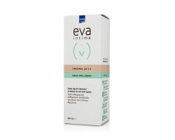 InterMed eva intima Original Daily Wellness pH 3.5 Απαλό Υγρό Καθαρισμού της Ευαίσθητης Περιοχής για όλους τους τύπους 250ml