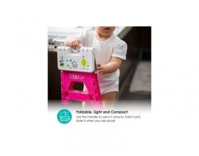 Bbluv Step, Αναδιπλούμενο Σκαλάκι 18+m Χρώμα Ροζ, 1τμχ
