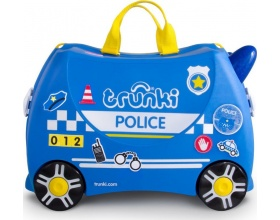 Trunki Παιδική Βαλίτσα Ταξιδίου Percy the Police Car, 1τμχ