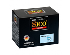 Sico Extra Wet  Προφυλακτικά, 50 τμχ