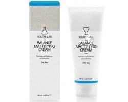 YOUTH LAB Balance Mattifying Cream  Ρυθμιστική, Ενυδατική Κρέμα με Αντιοξειδωτική Δράση για λιπαρό δέρμα 50ml