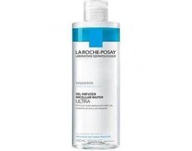 La Roche Posay Oil-Infused Micellar Water Ultra Καθαριστικό Αφαίρεσης του Αδιάβροχου Μακιγιάζ 400ml