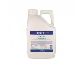 Froika Froisept Αντισηπτικό - Spray Εξουδετερώνει το 99,9% των μικροβίων και προσφέρει υγιεινή και προστασία χωρίς νερό και σαπούνι 5L