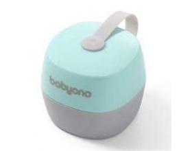 BabyOno Θήκη Πιπίλας Χρώμα Γαλάζιο- Γκρί 0m+, 1τμχ.