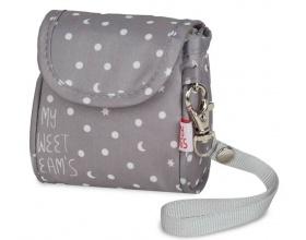My Bag's Θήκη για Πιπίλες Χρώμα Γκρι, 1τεμ