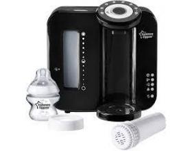 Tommee Tippee Perfect Prep Mashine Συσκευή Προετοιμασίας Βρεφικού Γάλακτος Χρώμα Μαύρο, 1τμχ
