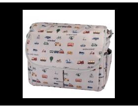 My Bag's, Τσάντα Καροτσιου με Γάτζους για να Κρεμιέται στο Καρότσι και Υπόστρωμα Αλλαγής Πάνας, Travel, 1τμχ.