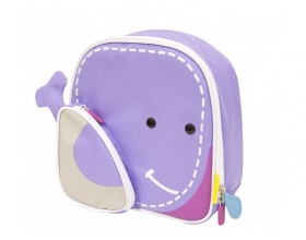 Marcus & Marcus Ισοθερμική Τσάντα Φαγητού Φάλαινα Χρώμα Μωβ, 1τμχ.
