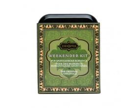 Kamasutra Weekender Kit Original, Σετ Αιθέριων ελαίων για μασάζ και λιπαντικό, 1 τμχ