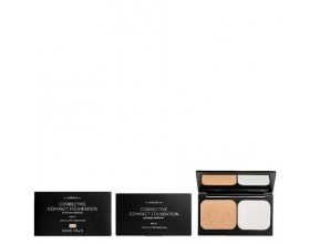 KORRES Corrective Compact Foundation ACCF1 με Ενεργό Άνθρακα - Διορθωτικο Για Σοβαρες Ατελειες με SPF 20 , 9.5g
