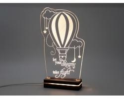 "Gift & Design Led Φωτιστικό ""Αερόστατο"", 1τμχ"