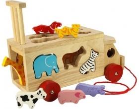 Big Jigs Toys Φορτηγό με Ζώα Της Ζούγκλας Λόρυ, 1τμχ