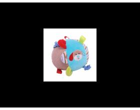 Big Jigs Toys, Μπάλα δραστηριοτήτων χρώματος μπλέ με κουδούνισμα για μωρά 0m+, 1τμχ
